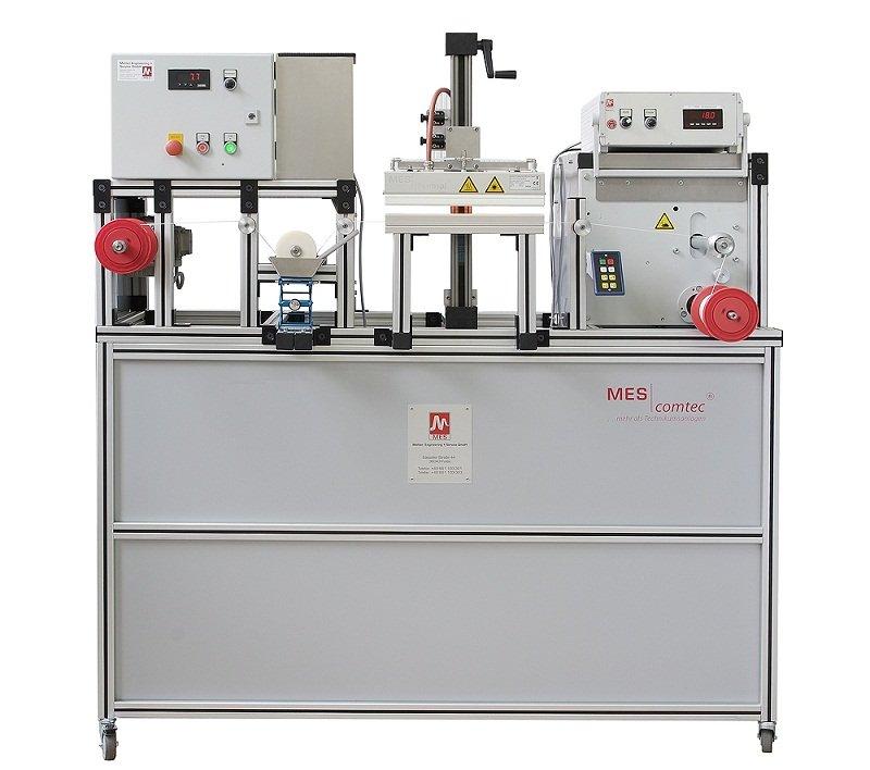 MES comtec® single-coat-Modul - Laboranlage zur Veredelung von Fäden und Garnen mit MES thermsol® tube IR-Strahlern