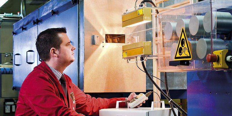 Laboranlage für Fäden und Garne - Abnahmetest vor Ort