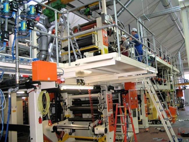 foil printing line