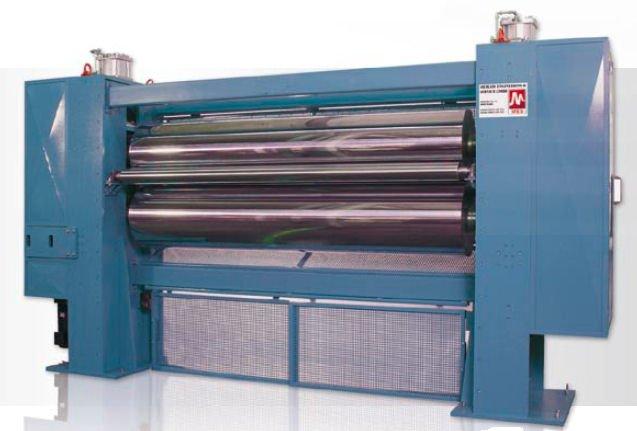 Kühlwalzenpresswerk für Nonwoven-Produktion