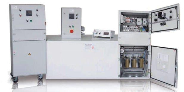 Leistungssteuergeräte - Manuelle Leistungsstellung oder digitale Regelung nach Sollwertvorgabe + Berührungslose Oberflächentemperaturerfassung