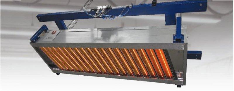 MES comIR 500-1300 Infrarot-Kassette
