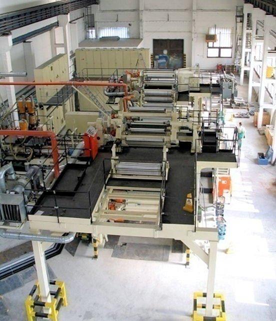 Produktionsverlagerung - Anlagenaufbau