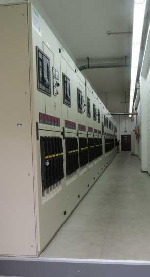 Energieverteilung - Mittelspannungs-Schaltanlage