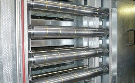 MES systems® Filamentfaden-Trockner – Detail