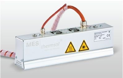 MES thermsol® plain IR CF - Infrarot-Flächenstrahler mit Gebläsekühlung
