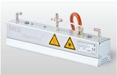 MES thermsol® plain IR CP - Infrarot-Flächenstrahler mit Druckluftkühlung