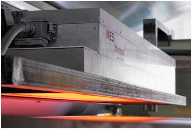 MES thermsol® com IR Infrarot-Kassetten - Infrarottrocknung von Beschichtungen auf Geweben