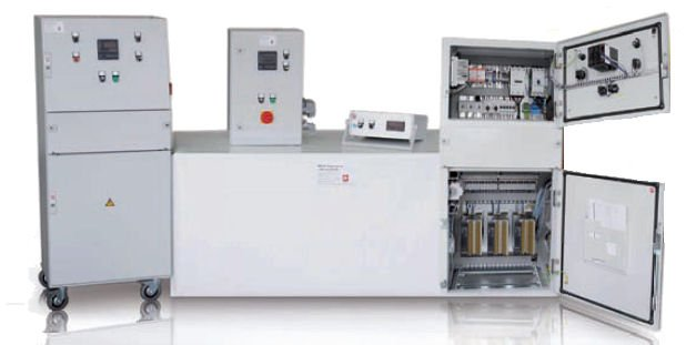 MES thermsol® Leistungssteuergeräte - Manuelle Leistungsstellung oder digitale Regelung nach Sollwertvorgabe + Berührungslose Oberflächentemperaturerfassung + Software zur Datenerfassung und Datenspeicherung