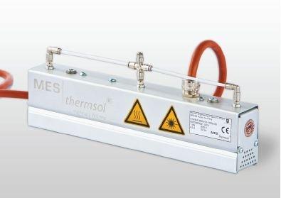 MES-thermsol® line IR CP - Infrarot-Linienstrahler mit Druckluftkühlung