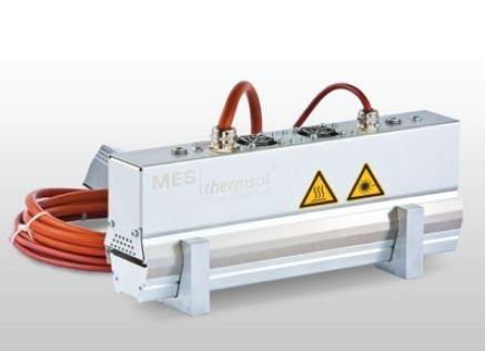 MES thermsol® tube IR CF Infrarot-Röhrenstrahler
