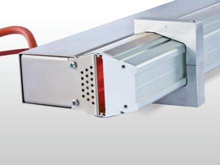 MES thermsol® tube IR CF Infrarot-Röhrenstrahler - Detail