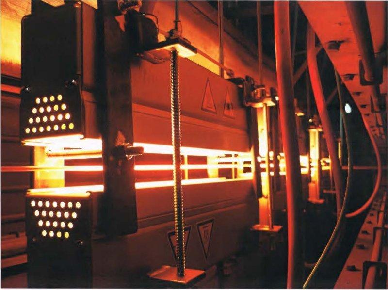 MES thermsol® tube IR - Infrarot-Röhrenstrahler zur Trocknung von Fäden, Garnen und anderen fadenförmigen Produkten