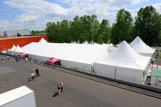 175 Jahre Mehler AG Festzelt