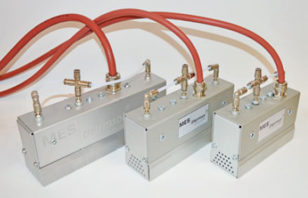 MES thermsol® lineIR CP Infrarot-Strahler kompakt - Anschlüsse