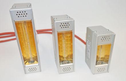 Infrarot-Strahler kompakt - Reflektorkammer