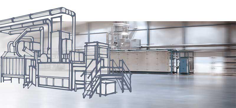 MES systems® Trocknungssysteme: Projektierung und Fertigung