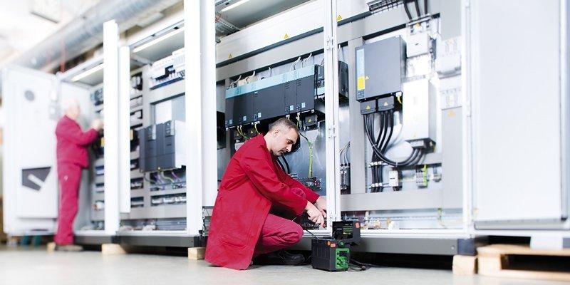 Integration der Sicherheitstechnik - mechanisch, elektrotechnisch und steuerungstechnisch