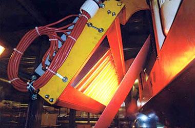 MES comIR Strahlerkassette zur Warentrocknung und Glanzgraderhöhung