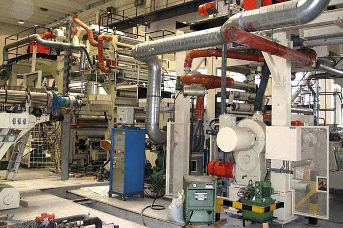 Produktionsanlage Kunststoffindustrie