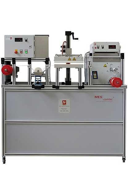 Laboranlage zur Veredelung von Fäden und Garnen