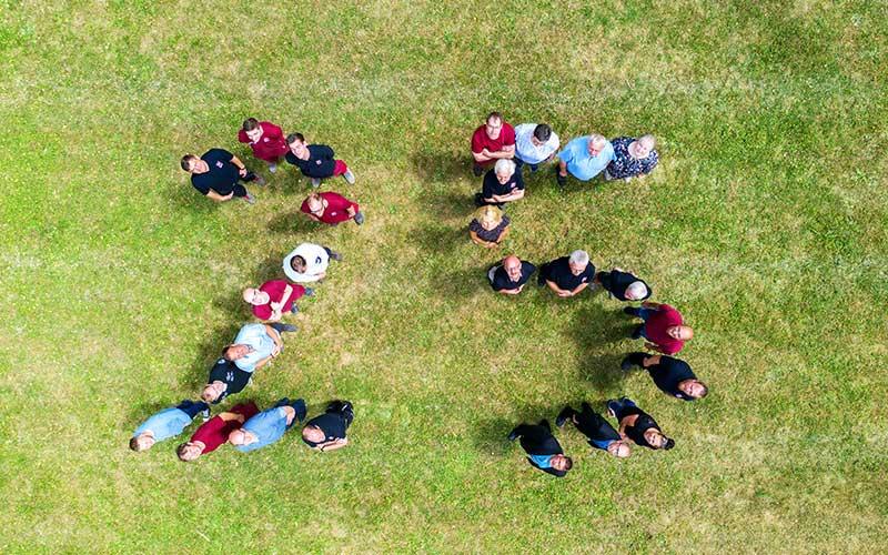 25 Jahre Mehler Engineering - Mitarbeiter