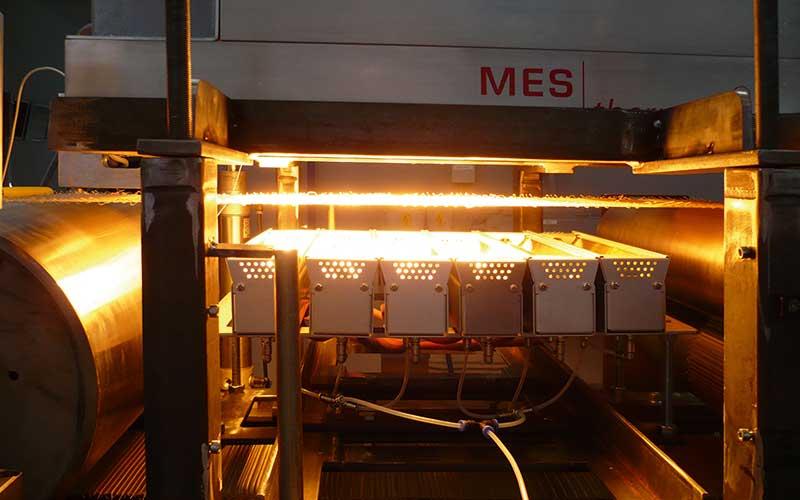 MES Industrie-Infrarotstrahler
